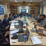 Asesmen Lapangan Daring (Online) Program Studi Magister Ilmu Komputer Universitas Budi Luhur, Jum'at 23 dan Sabtu 24 Oktober 2020
